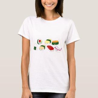 Kawaii Sushi with faces T-Shirt