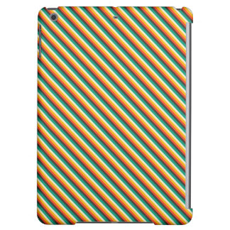 Kawaii Sweet Cute Striped Case Matte iPad Air Case