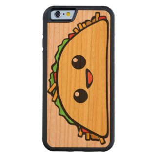 Kawaii Taco Carved Cherry iPhone 6 Bumper Case