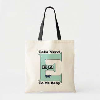 Kawaii Talk Nerdy (Nerd-E) To Me Baby Budget Tote Bag