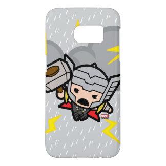 Kawaii Thor With Lightning
