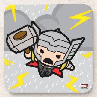 Kawaii Thor With Lightning Coaster