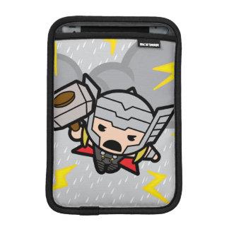 Kawaii Thor With Lightning iPad Mini Sleeve