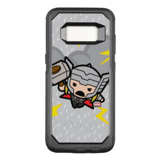 Kawaii Thor With Lightning OtterBox Commuter Samsung Galaxy S8 Case