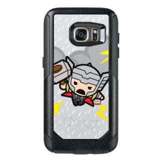 Kawaii Thor With Lightning OtterBox Samsung Galaxy S7 Case