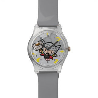 Kawaii Thor With Lightning Watch