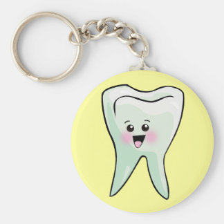 Kawaii Tooth Dental Art Key Chain