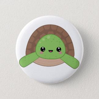 Kawaii Turtle Pin Badge