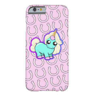 Kawaii Unicorn! Barely There iPhone 6 Case