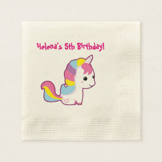 Kawaii Unicorn Disposable Serviette