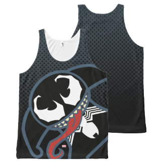 Kawaii Venom Tongue Lash All-Over Print Singlet