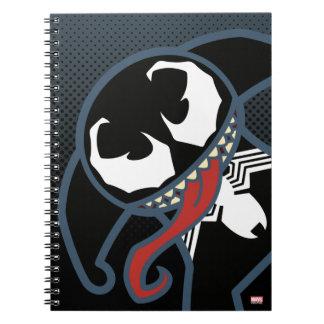 Kawaii Venom Tongue Lash Notebook