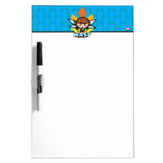 Kawaii Wasp Flying Dry Erase Board