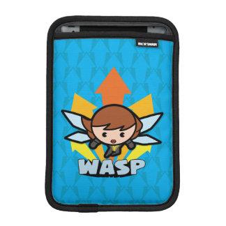 Kawaii Wasp Flying iPad Mini Sleeve