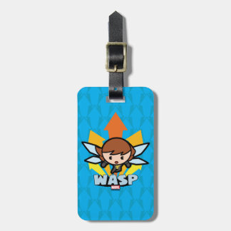 Kawaii Wasp Flying Luggage Tag