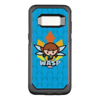 Kawaii Wasp Flying OtterBox Commuter Samsung Galaxy S8 Case