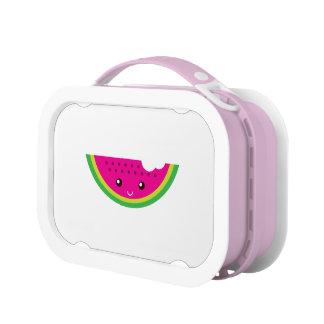 Kawaii watermelon lunch box