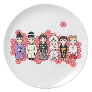 Kawaii Wedding Dinner Plate