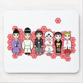 Kawaii wedding mouse pad