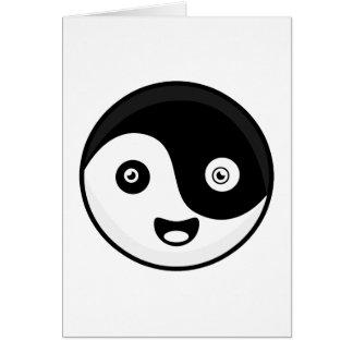 Kawaii Yin Yang Card