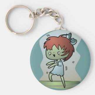 Kawaii Zombie Keychain
