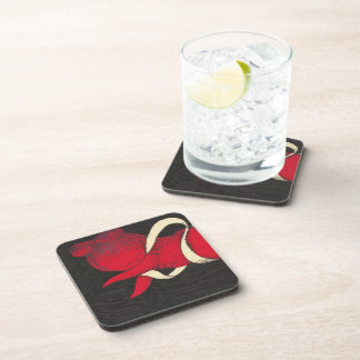 Kawano Kaoru Hagoromo ukiyo-e woodblock print Drink Coaster