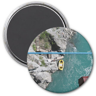 Kawarau Bridge Bungy POV, Queenstown, New Zealand Magnet