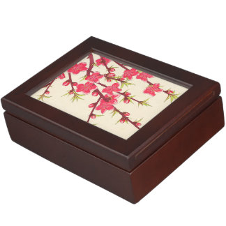 Kawarazaki Shodo Floral Calendar of Japan Cherry Keepsake Box