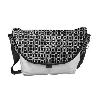 Kawarikoushi Japanese Pattern Messenger Bag