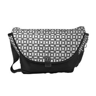 Kawarikoushi Japanese Pattern Messenger Bag B