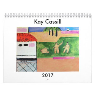 KAY CASSILL 2017 ART CALENDAR