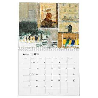 Kay Cassill 2018 Calendar - We'll Always Have Pari