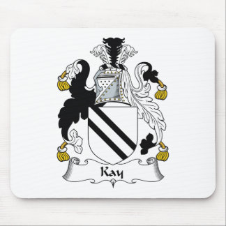 Kay Family Crest Mouse Pad