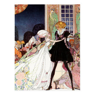 Kay Nielsen - Twelve Dancing Princesses Postcard