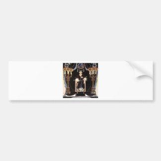 Kay NIelsen's Dark Nordic Prince Car Bumper Sticker