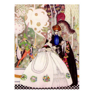 Kay Nielsen's Fairy Tale, Bluebeard and His Wife Postcard