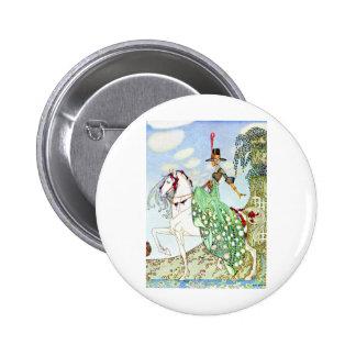 Kay Nielsen's Princess Minotte Fairy Tale 6 Cm Round Badge