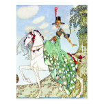 Kay Nielsen's Princess Minotte Fairy Tale Postcard