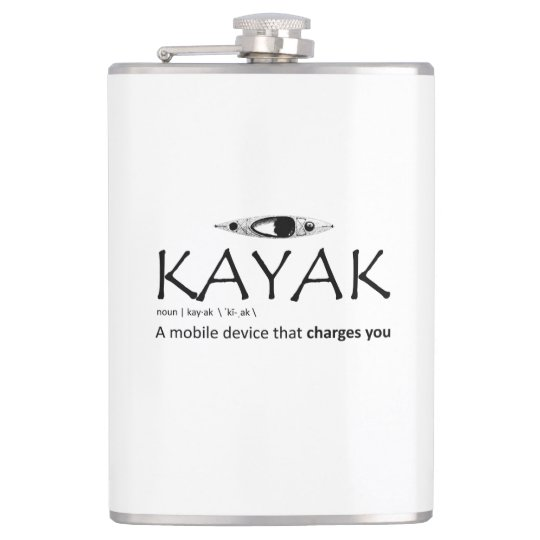 Kayak, A Mobile Device That Charges You Hip Flask