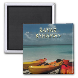 Kayak Bahamas Travel Magnet