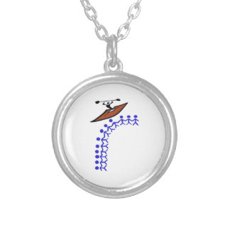 Kayak Bond Silver Plated Necklace