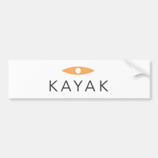 Kayak Bumper Sticker