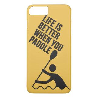 Kayak canoe paddle design iPhone 7 plus case