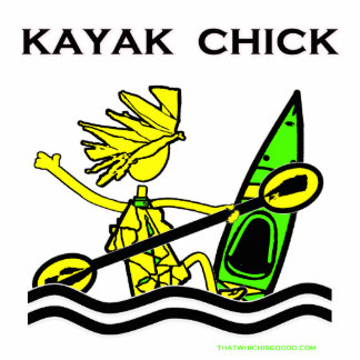 Kayak Chick Designs & Things Photo Cut Outs