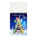 Kayak Christmas Tree – Photo Card Photo Card