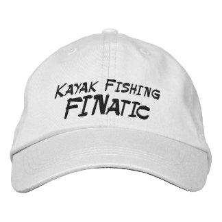 Kayak Fishing Fanatic Embroidered Hat