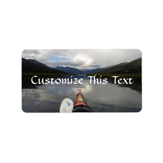 Kayak Journey Label