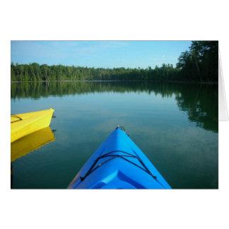 Kayak Notecard