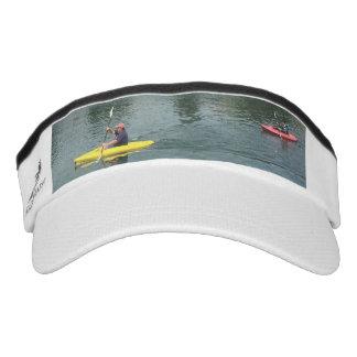 Kayak-Themed Sun Visor