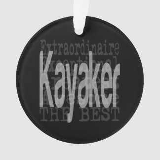 Kayaker Extraordinaire Ornament